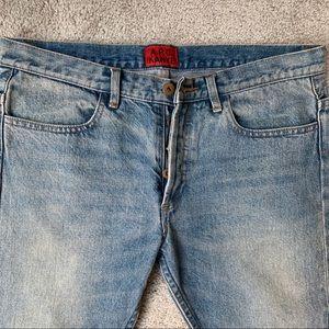 APC x Kanye West Mens Skinny Jeans sz 28